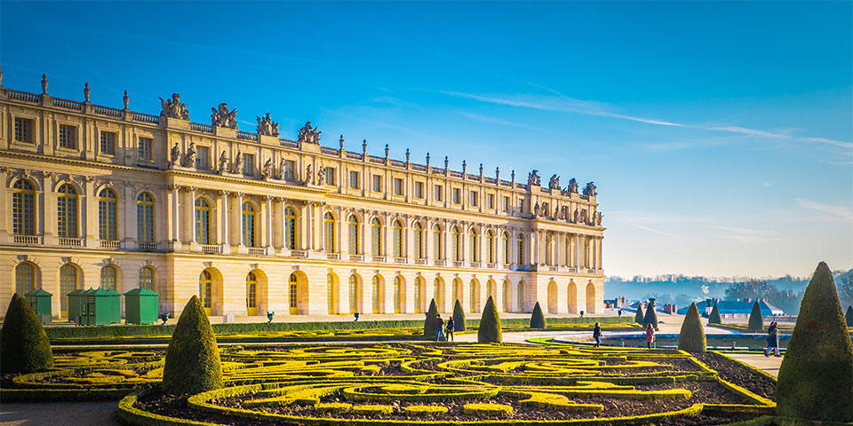 Versailles, Palace and their gardens in Paris