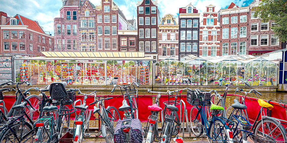We tell you all about the Flower Market in our Free Tour Amsterdam