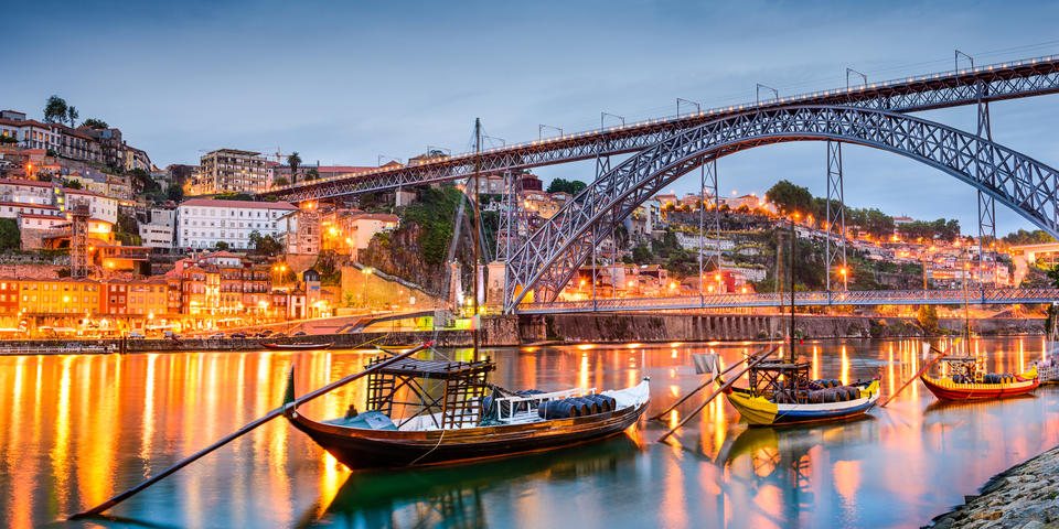 Las vistas que tendremos de Oporto son espectaculares
