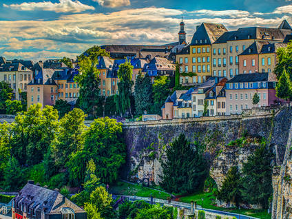 Aerial view of Luxembourg - Buendia Tours