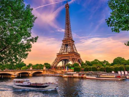 Entrada a la cima de Torre Eiffel y Crucero por el Sena
