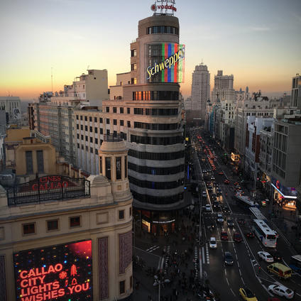 Edificio Schweppesh de la Gran Via de Madrid