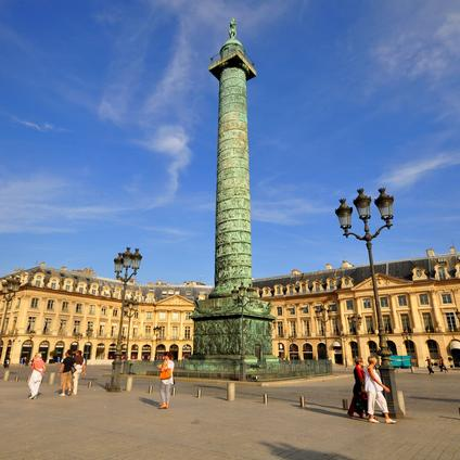 Plaza de Vendome en París